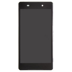 OEM LCD Screen and Digitizer Assembly with Front Housing for Sony Xperia Z2 D6503 - Black