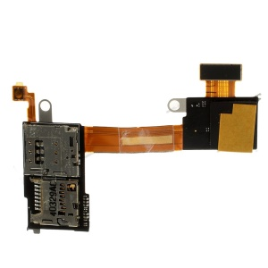 OEM for Sony Xperia M2 SIM and SD Card Reader Flex Cable Ribbon