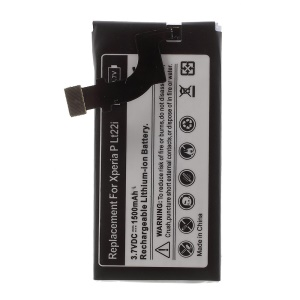 1500mAh Li-ion Battery Replacement for Sony Xperia P LT22i Nypon