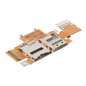 OEM for Sony Xperia Tablet Z SIM Card and SD Card Reader Contact Flex Cable
