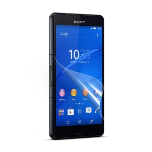 Clear Screen Protective Film for Sony Xperia Z3 Compact D5803 M55w