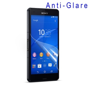 Anti-glare Screen Protector Guard Film for Sony Xperia Z3 Compact D5803 M55w