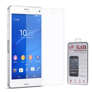 0.25mm Explosion-proof Tempered Glass Screen Film for Sony Xperia Z3 Compact D5803 M55w (Arc Edge)
