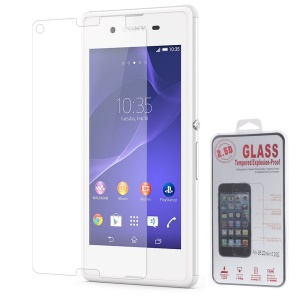 0.25mm Explosion-proof Tempered Glass Screen Film for Sony Xperia E3 D2203 D2206 / E3 Dual SIM (Arc Edge)