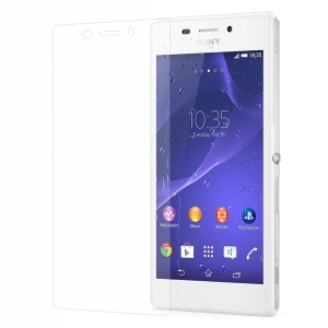 For Sony Xperia M2 Aqua 0.3mm Anti-explosion Tempered Glass Screen Protector Film
