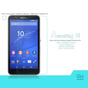 NILLKIN Amazing H Tempered Glass Screen Film for Sony Xperia E4 Nano Anti-Explosion