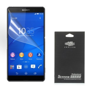 Ultra Clear Screen Guard Film for Sony Xperia Z3+ Plus E6553 Z4 / Z3+ dual E6533 (With Black Package)