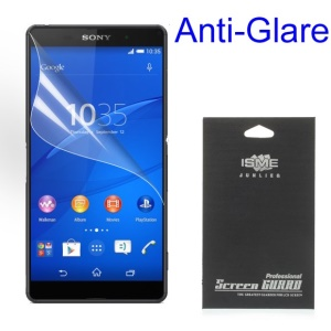 Matte Anti-glare Screen Protector for Sony Xperia Z3+ E6553 Z4 / Z3+ Plus dual E6533 (With Black Package)