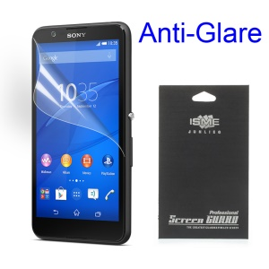Matte Anti-glare Screen Protector for Sony Xperia E4g Dual / E4g (With Black Package)