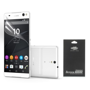 Ultra Clear LCD Screen Film for Sony Xperia C5 Ultra E5553 / Ultra Dual E5533 (With Black Package)