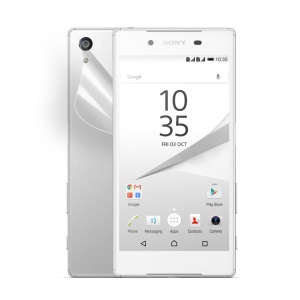 Ultra Clear Protective Back Guard Film for Sony Xperia Z5