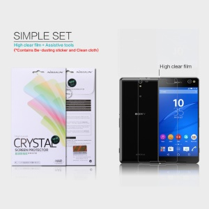 NILLKIN Anti-fingerprint Clear Screen Protector for Sony Xperia C5 Ultra E5553 / Ultra Dual E5533