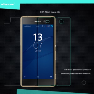 NILLKIN Amazing H Tempered Glass Screen Film for Sony Xperia M5 E5603 / M5 Dual E5633 Nanometer Anti-Explosion