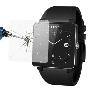 LINK DREAM 0.2mm Tempered Glass Screen Protector Guard for Sony SW2 Smart Watch