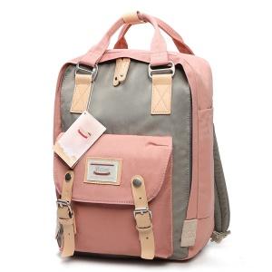 Multi-functional Hand Carry Mummy Bag Outdoor Travel Backpack - Pink