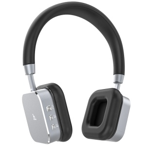 HOCO HPW01 Wireless Bluetooth Over-ear Headphone Hands-free Earphone - Grey
