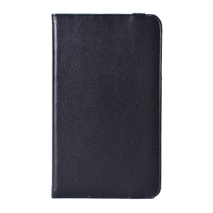 Lychee Texture PU Leather Case with 360 Rotation Stand for LG G Pad 8.0 V480 - Black