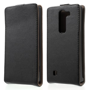 Vertical Flip Magnetic Leather Case for LG Magna H500F / LG G4C
