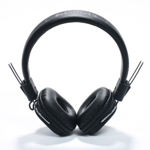 REMAX RM-100H Over-ear Stereo Headphone with 3.5mm In-line Mic Cable for iPhone Samsung - Black
