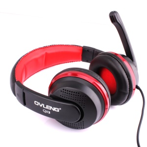 OVLENG Q13 Over-ear USB Port Computer Music Headset with Mic