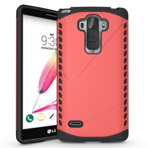 PC TPU Protective Hybrid Case for LG G4 Note - Rose