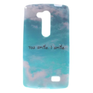 You Smile I Smile Soft TPU Gel Case for LG L Fino D295 Dual SIM