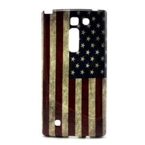 Protective Gel TPU Phone Case for LG Magna H502F H500F - US Flag