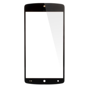 Black Front Glass Lens Screen Cover for LG Nexus 5 D820