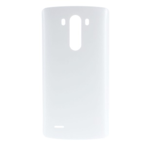 OEM Battery Door Cover Back Housing w/ Wireless Charging IC Chip for LG G3 D850 D851 D855 - White
