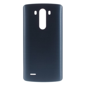 OEM Battery Door Back Housing w/ Wireless Charging IC Chip for LG G3 D850 D851 D855 - Dark Blue