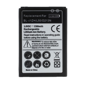 2300mAh BL-41ZH Li-ion Battery Replacement for LG L50 D213N