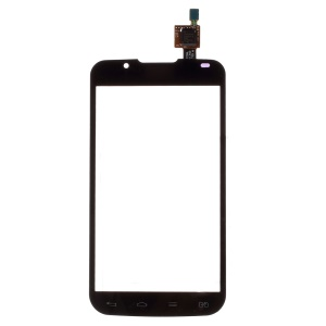 OEM for LG Optimus L7 II Dual P715 Digitizer Touch Screen with Adhesive Sticker - Black