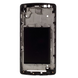 For AT&T LG G3 S D725 OEM Middle Plate Replacement Part - Black