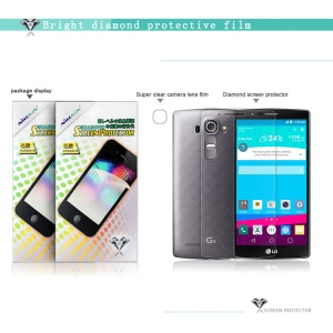 NILLKIN Bright Diamond Ultra Clear Screen Protector Film for LG G4