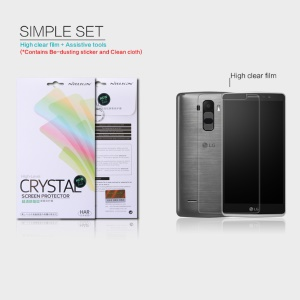 NILLKIN Anti-fingerprint Clear Screen Protector for LG G4 Stylus G Stylo