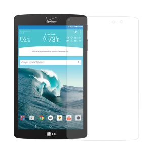 0.3mm Tempered Glass Screen Protector Film for LG G PAD X 8.3 Arc Edge