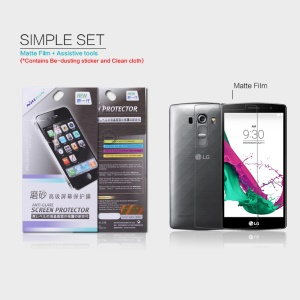 NILLKIN Anti-scratch Matte Screen Protector Film for LG G4 Beat G4s G4 s