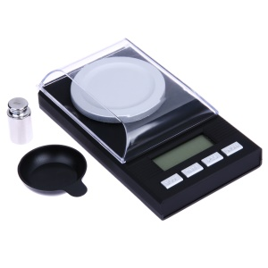 Mini Digital Milligram High Precision Scale 20g/0.001g Gems Jewelry Gold Color Powder Weighing Scale