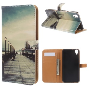 Bridge & Passerby Wallet Leather Shell for HTC Desire 820 / Dual Sim
