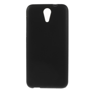 Matte TPU Gel Phone Case for HTC Desire 620 Dual Sim / 820 Mini D820mu - Black