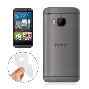 0.3mm Slim TPU Case for HTC One (M9) - Transparent