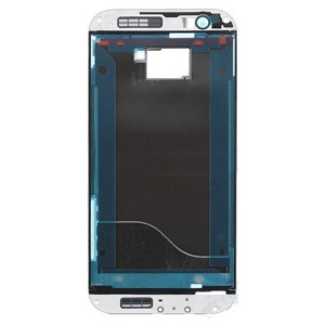 OEM for HTC One M8 Front Housing Frame Replacement - White