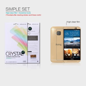 NILLKIN Ultra Clear Anti-fingerprint Screen Protector for HTC One M9