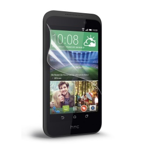 Clear LCD Screen Protector Guard Film for HTC Desire 320