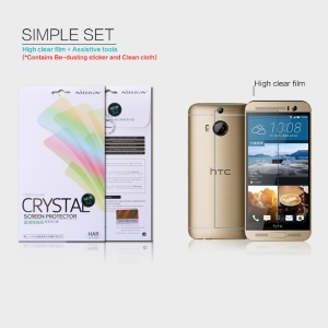 NILLKIN Ultra Clear Screen Film for HTC One M9 Plus Anti-fingerprint