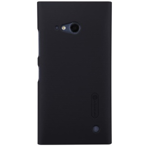Black NILLKIN for Nokia Lumia 730 735 Super Frosted Shield Hard PC Case with Screen Protector