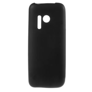 Double-sided Frosted TPU Case for Nokia 215 / 215 Dual SIM - Black