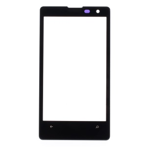 Front Glass Screen Lens Replacement for Nokia Lumia 1020 - Black