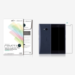 Nillkin Super Clear Anti-fingerprint Screen Protector Guard Film for Nokia Lumia 735 / 730 Dual SIM
