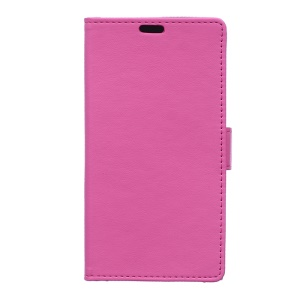 Card Holder Leather Cover for Huawei Y360 with Stand - Rose
